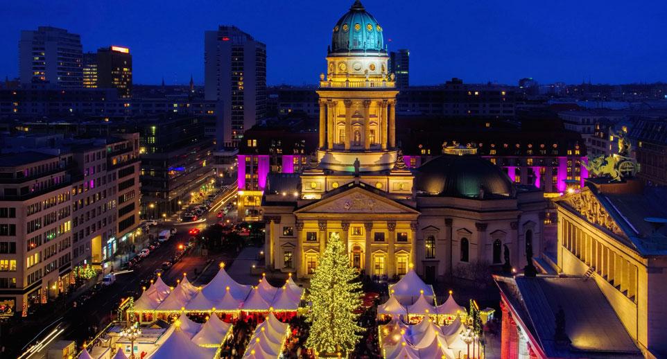 Weihnachtsfeier Tour durch Berlin